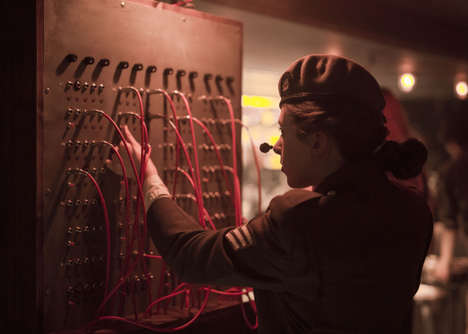 Spy-Themed Bars - The Bletchley Requires Patrons to Crack Tricky Codes to Get Drinks