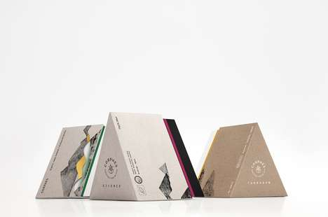 Prismatic Herb Packaging - These Herb Containers Use a More Artistic Brand Identity Than Competitors