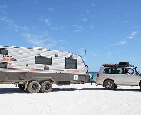 Luxurious Boomer-Centric Caravans