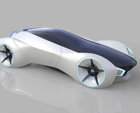 Redefined Futuristic Sports Cars