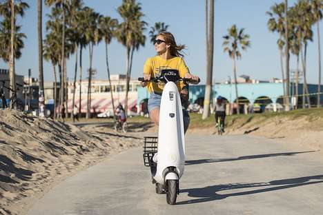 Eco-Friendly Adult Scooters - The 'OjO' Commuter Scooter Offers Solid Range and Speed
