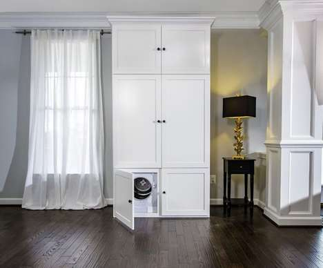 Clothes-Steaming Wardrobes - The 'ThreadRobe' Smart Wardrobe Steams and Organizes Clothing