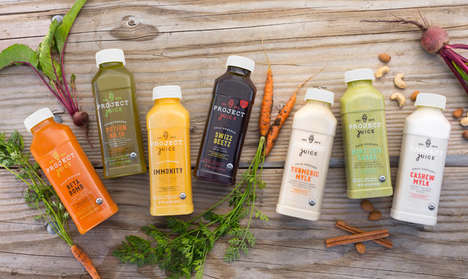 Customizable Fresh Juice Subscriptions - This Juice Delivery Service Helps to Enhance Health Goals