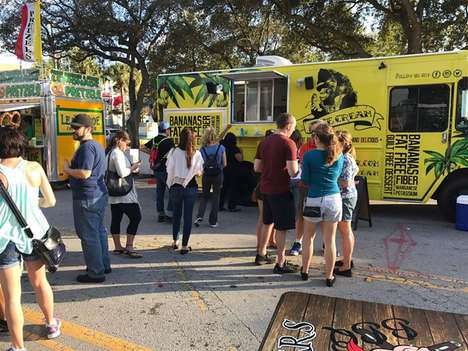 Vegan Ice Cream Trucks - The Nice Cream Food Truck Offers Dairy-Free Alternative Treats