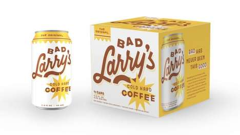 Hard Coffee Beverages - Bad Larry's is Introducing the World to Alcohol-Infused Coffee in a Can