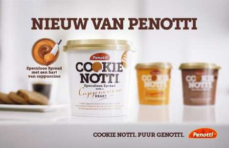 Coffee-Flavored Cookie Spreads - Penotti's Speculoos Spread Flavors Remind of Espresso & Cappuccino
