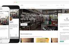 The Banquet App Allows Users to View Quality Wines and Order Them