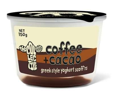 Caffeinated Chocolate Yogurts - This Greek-Style Yogurt Boasts a Creamy Cocoa and Coffee Compote