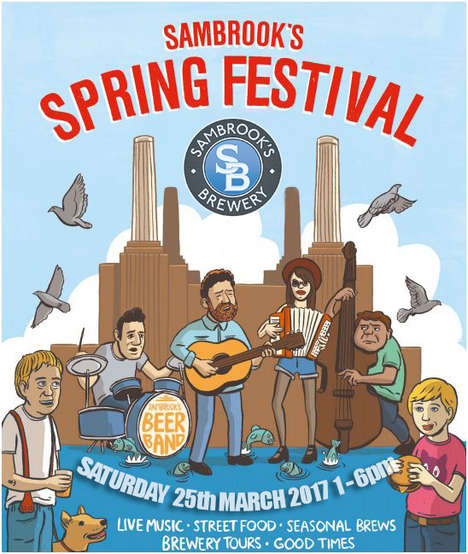 One-Day Brewery Festivals - Sambrook's Brewery is Launching Its Newest IPA with a Springtime Party