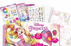 Princess Watercolor Books