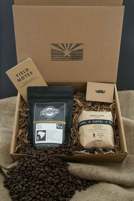 All-American Coffee Subscriptions - Monthly Java Offers a Journey from State to State Through Taste