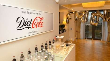 Female Friendship Events - Diet Coke's Girl's Night Launched the Get the Gang Back Together Campaign
