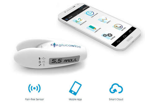 Pain-Free Glucose Monitors - The 'Glucowise' Measures Blood Glucose Levels Quickly without Pain