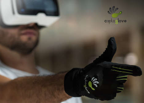 Glove Gaming Controllers - The 'CaptoGlove' Wireless Controller Utilizes Your Hand for Gameplay