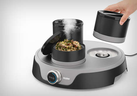 Multi-Dish Meal Cookers - The Haier Multipurpose Cooker Makes Meal Cooking a Simpler Affair
