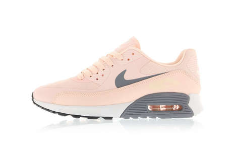 Minimalist Sunset-Inspired Sneakers - These Pink Air Max 90s Have a Simple Feminine Design