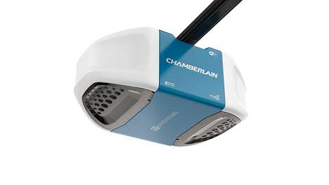 Ultra-Quiet Garage Door Openers - The Chamberlain WiFi Garage Door Opener is Smartphone-Controlled
