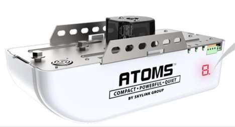 Voice-Activated Garage Doors - The Skylink ATOMS Garage Door Opener is Compatible with Amazon Alexa