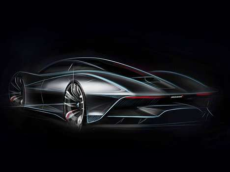 Futuristic Supercar Successors - The McLaren BP23 is the Eagerly Long-Awaited Follow-up to the F1