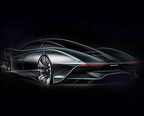 Futuristic Supercar Successors