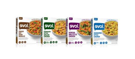 Internationally Inspired Entrees - Evol's Single-Serve Meals Boast Flavors from Around the World