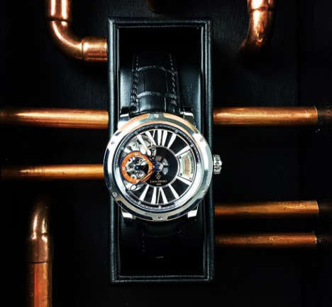 Aged Alcohol Timepieces - The Glenlivet 1862 Whisky Watch Has the World's Oldest Scotch Inside It