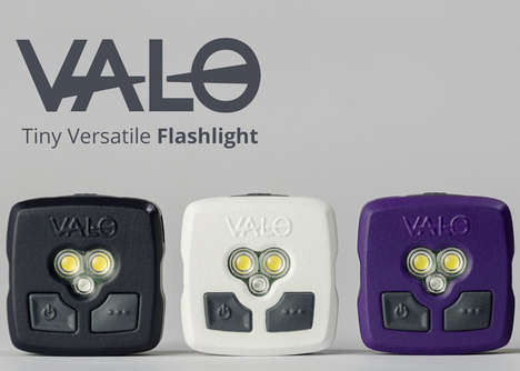 Versatile Mini Flashlights - The 'VALO' Small Flashlight is Incredibly Bright and Multifunctional