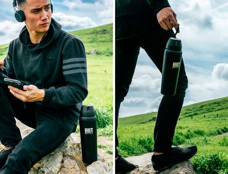 Multi-Beverage Drink Containers - The New 'HIIT' Drink Bottle Can be Used with Any Kind of Beverage