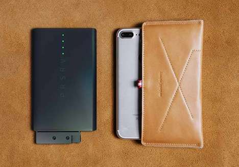 Removable Battery Charging Stations - The 'PRSRV' Power Bank Offers a Versatile Solution to Charge
