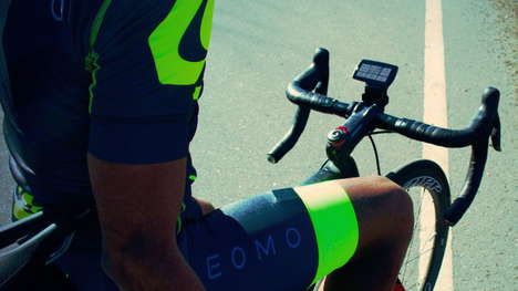 Holistic Body Cycling Sensors - The LEOMO 'TYPE-R' Cycling Training Coach is Comprehensive