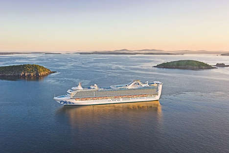 Retrofitted Family Cruise Ships - The Princess Cruises Caribbean Princess was Upgraded for Families