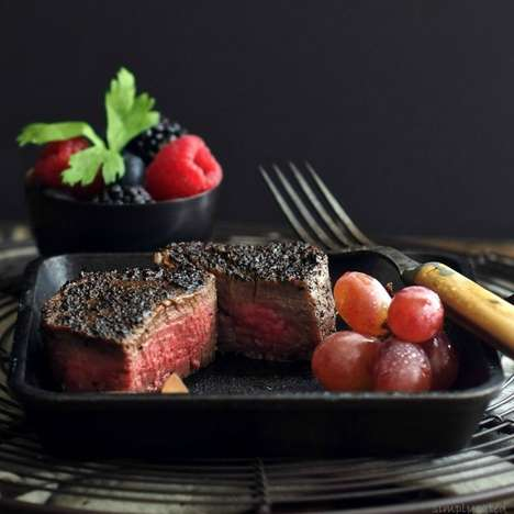 Coffee-Crusted Steak Recipes - Simply Sated's Tasty Recipe Features a Coffee-Infused DIY Seasoning