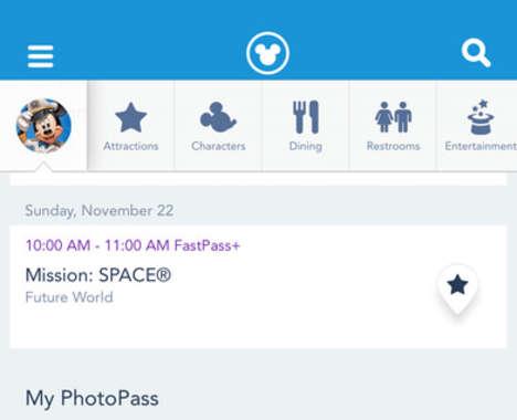 Interactive Theme Park Apps