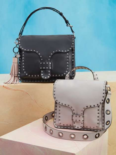 Luxury Loyalty Handbags - Rebecca Minkoff's Designer Handbags Boast QR Codes to Unlock Store Rewards