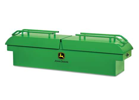 Theft-Proof Tool Boxes - The John Deere Gator® Tool Box Boasts a Durable and Secure Design