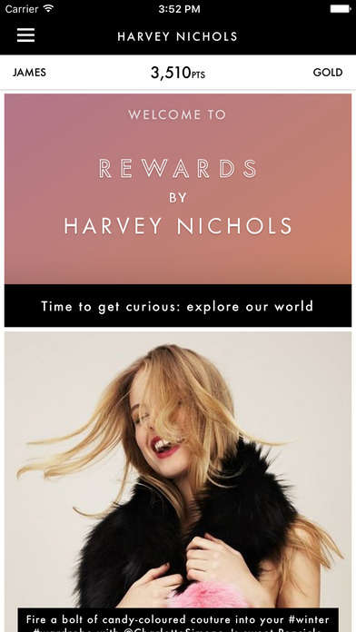 Experiential Retail Rewards - Harvey Nichols' Loyalty Rewards Program Offers Perks Frequently