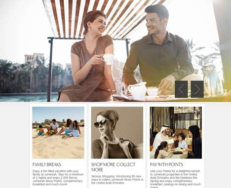 Loyalty Exchange Programs - Jumeirah Sirius is a Program That Trades Points for High-End Goods