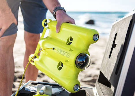 Aquatic 4K Camera Drones - The 'Gladius' Drone Enables Users to Take Underwater Photography