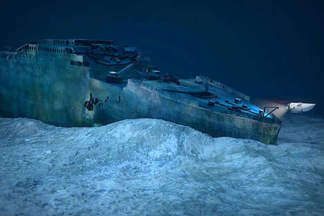 Famous Shipwreck Excursions - The Blue Marble Titanic Expeditions Take Guests to the Famous Wreckage
