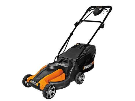 Compact Zero-Emission Lawn Mowers - This WORX Cordless Lawn Mower is an Eco-Friendly Home Product