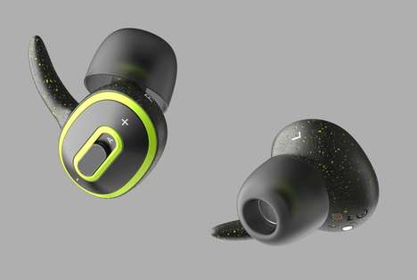 Customizable Beat Headphones - The 'Tempo' Concept Headphones Let You Set the BPM to Suit Activity