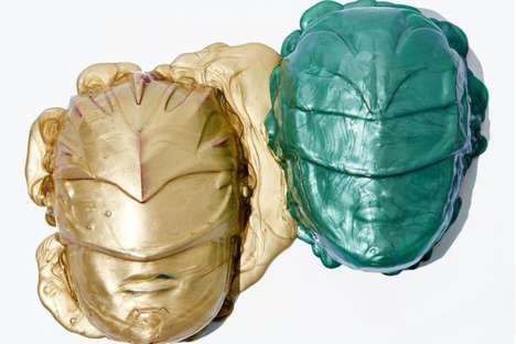 Heroic Ranger Face Masks - These Power Ranger GlamGlow Masks Correspond with the Release of the Film