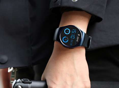 Ultra-Precise Monitoring Smartwatches - The LEMFO Smartwatch Heart Rate Monitor is Thin and Light