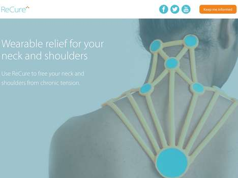Smart Tension Relief Bandages - The 'ReCure' Bandage Relieves Neck and Shoulder Pain