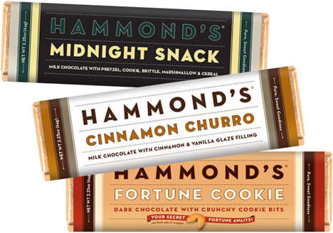Late-Night Chocolate Bars - 'Midnight Snack' Satisfies Cravings for Sweet Chocolate at Night