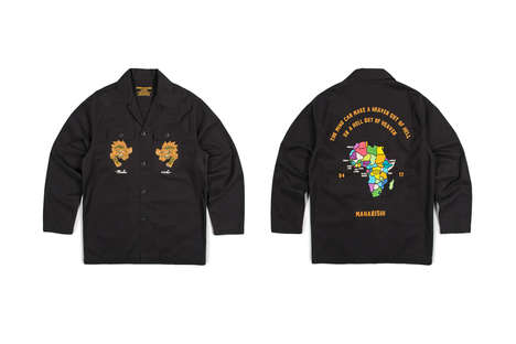 West African-Inspired Streetwear - The Maharishi Africa Collection Draws from the Area's Artworks