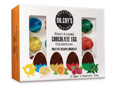 "Health-Focused Easter Eggs - Dr. Coy's Healthy Chocolate Eggs Feature Low GI ""Tooth-Friendly Sugars"""