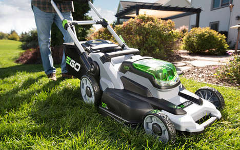 Lithium-Powered Lawn Mowers - The Ego Mower's Battery-Powered Engine Rivals Gas-Powered Competitors