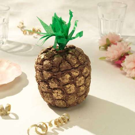 Exotic Fruit Easter Eggs - Choc on Choc Created the 'Chocolate Pineapple Easter Egg'