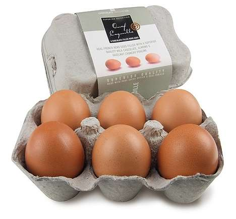Ultra-Realistic Easter Eggs - The Chocolate Trading Company's Treats Resemble Real Hen's Eggs
